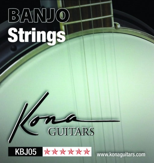 Kona KBJ05 Banjo Strings Light