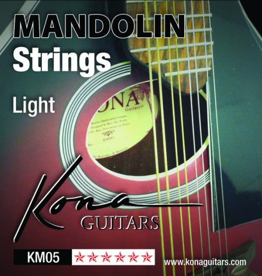 Kona KM05 Mandolin Strings Light