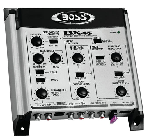 Boss 2/3 Way Electronic Crossover