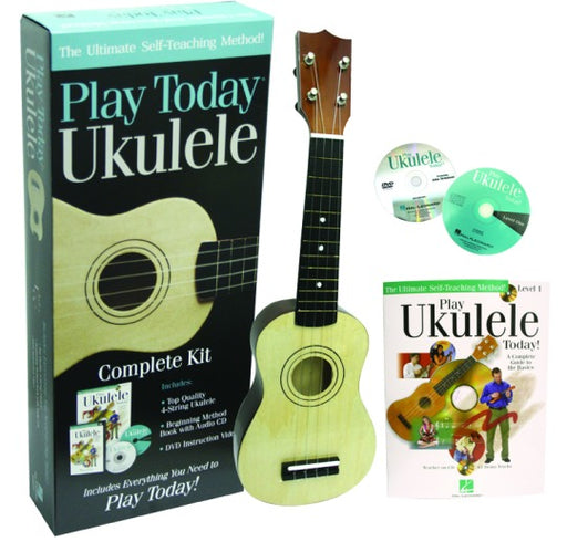 Hal Leonard 650743 Play Today Ukulele Kit