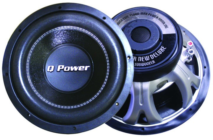Q POWER 12in WOOFER DVC 80ozMAGNET 1700W