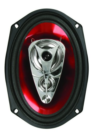 "Boss Chaos Exxtreme Series 5""x7"" 225 Watt 2-Way Full Range Speaker"