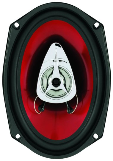 "Boss Chaos Exxtreme Series 6""x9"" 350 Watt 2-Way Full Range Speaker"