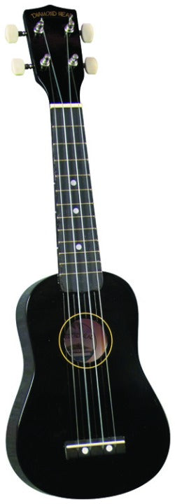 Diamond Head DU100 Ukulele - Black