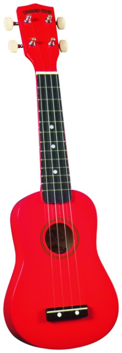 Diamond Head DU102 Ukulele - Red