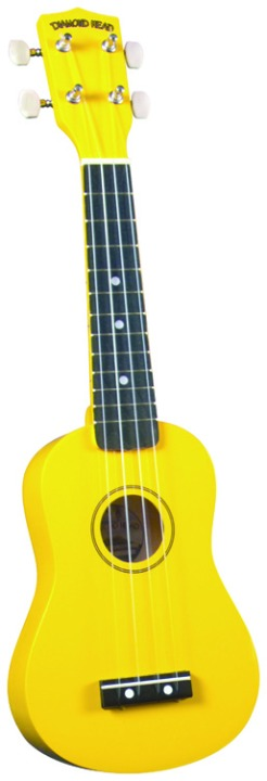 Diamond Head DU104 Ukulele - Yellow