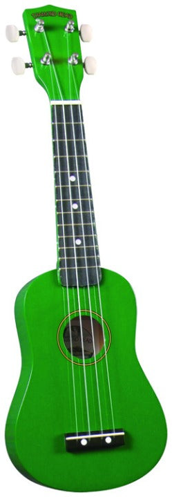 Diamond Head DU105 Ukulele - Green