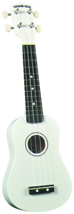 Diamond Head DU109 Ukulele - White