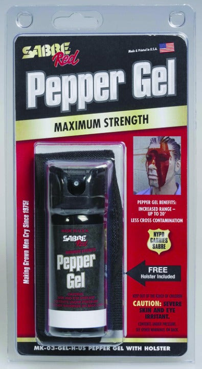 Sabre Maximum Strength Pepper Gel