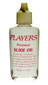 Players Trombone Slide Oil Clear