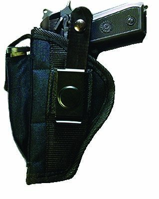 Small Automatic with laser side Holster
