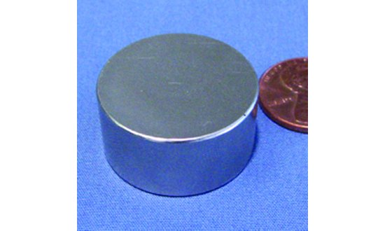 "1"" x 1/2""  Rare Earth Magnet"