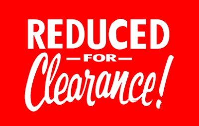 7X11 Clearance Sign Heavy Duty Synapse