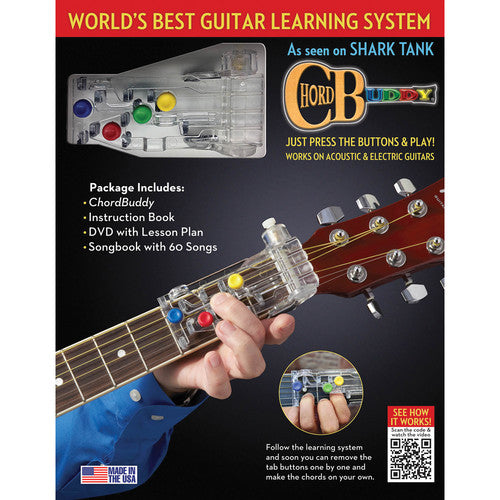 139936 Chord Buddy Guitar Learning System