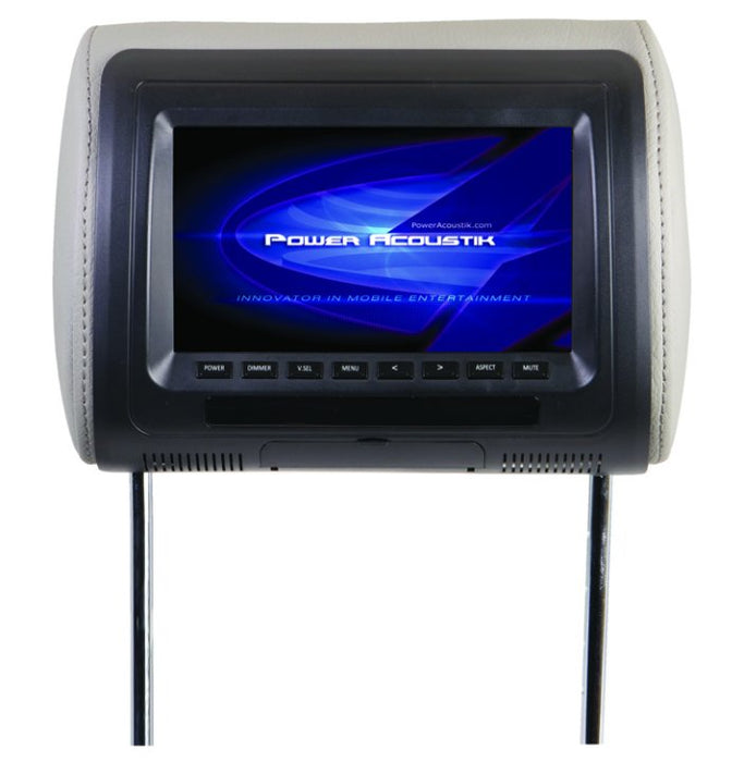 PA Multi Color BGT Headrest DVD 7in LCD