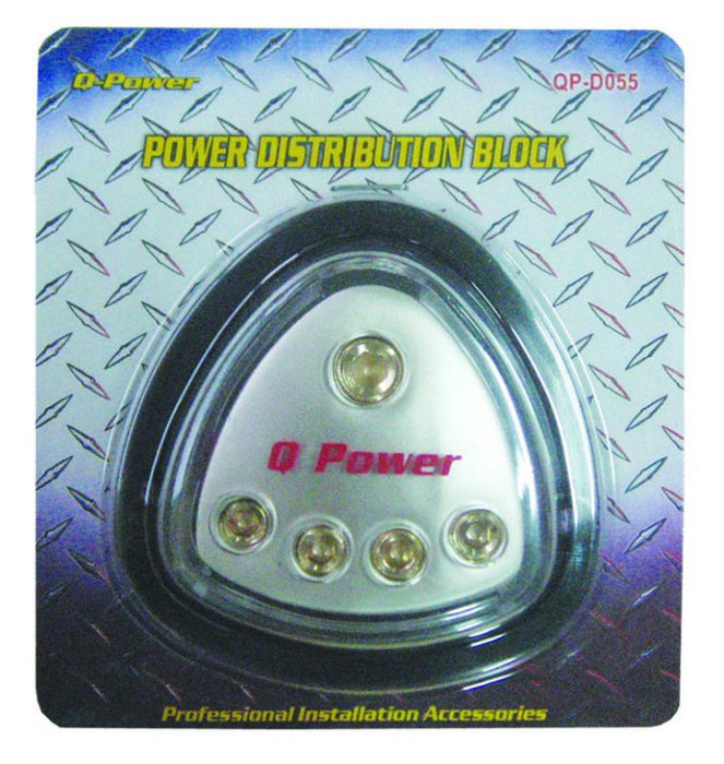Power Distribution Block (1) 0g in (4) 4