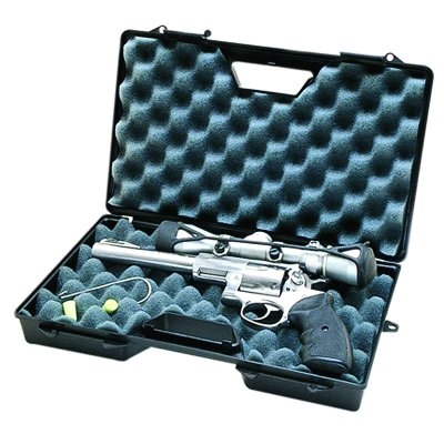 Case Gard Single Handgun Case For Semi-Autos & Revolvers