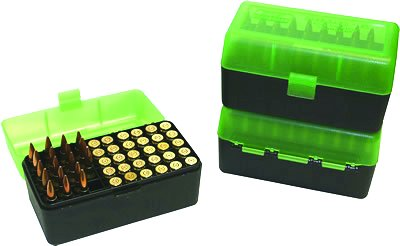 CaseGard Rifle Ammo Box 50ct