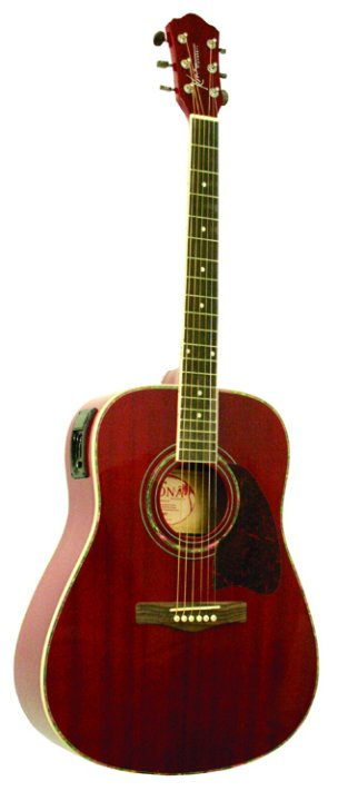 Dreadnought Acoustic Guitar with E.Q.