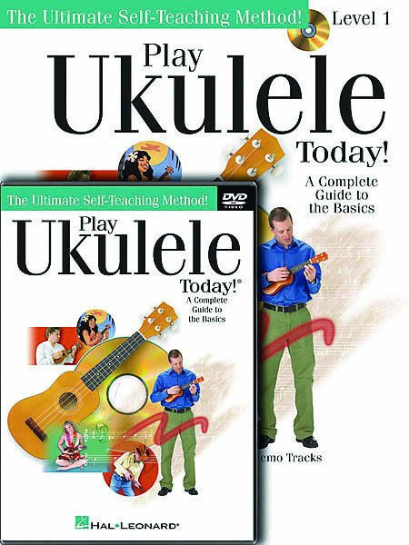Play Ukulele Today Pack CD/DVD