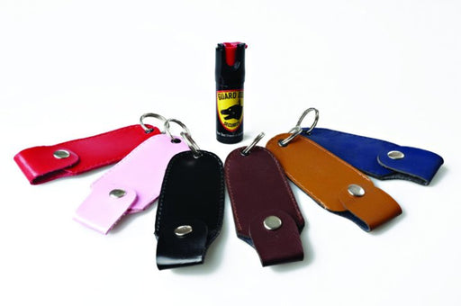 Guard Dog ½ Ounce Peppr Spray with Assorted Color Holster