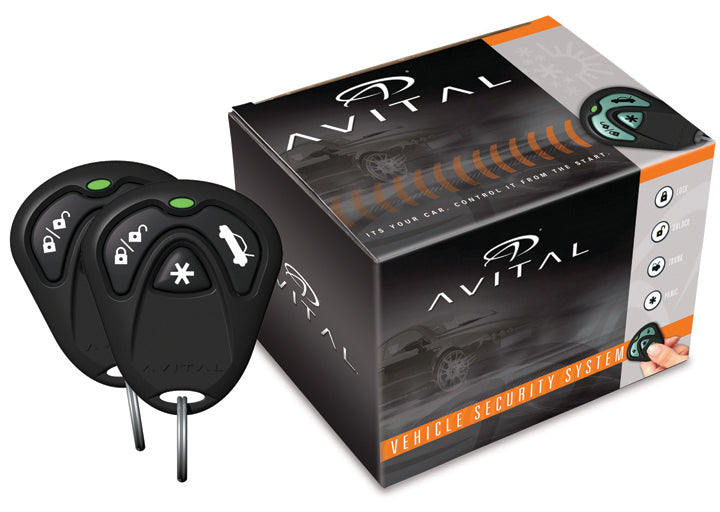 Avital 1 Way Security System