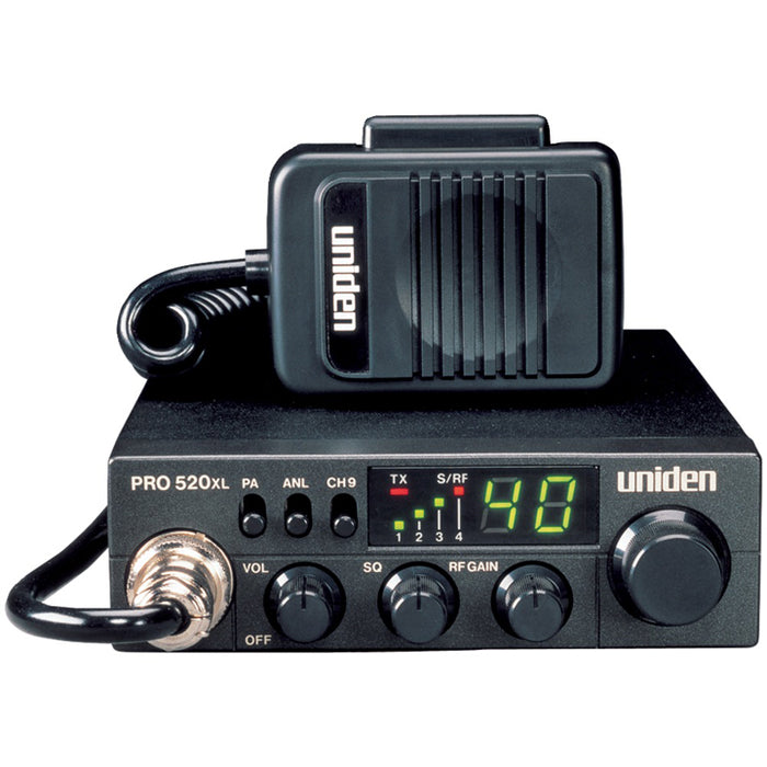 Uniden 40 Channel CB Radio with PA Jack