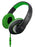 Sentry Deep Bass Headphones w/Mic Green