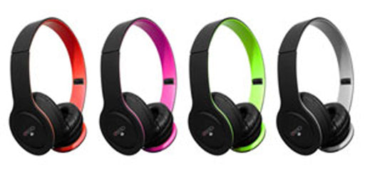 Sentry Neons: Folding Headphones with Mic