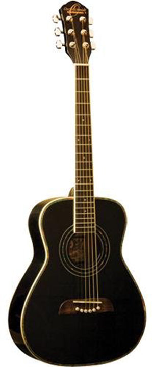 O S Half Size Acoustic SS Black