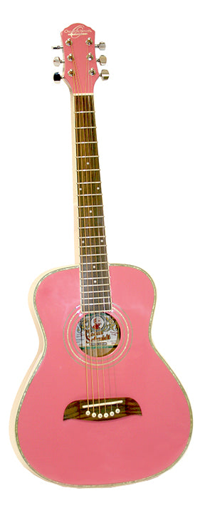 O S Half Size Acoustic SS Pink