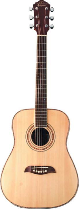 Oscar Schmidt 3/4 Acoustic Guitar Natural