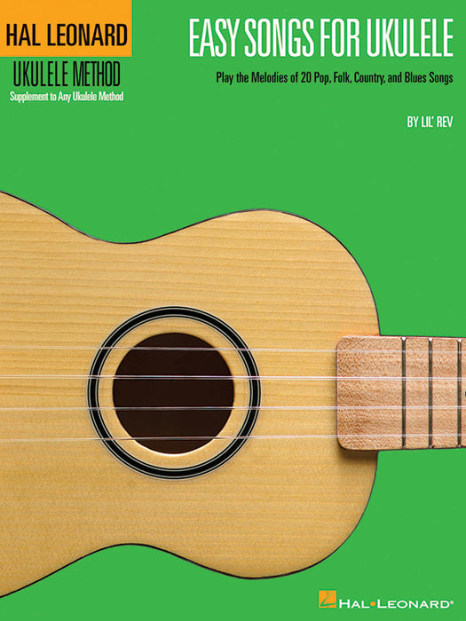 Hal Leonard Easy Songs Ukulele Book