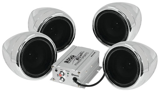 Boss BT ATV 1000 watt  4 Speaker Amp Kit