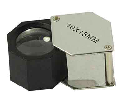 10x 18mm HEX Chrome Plated Loupe