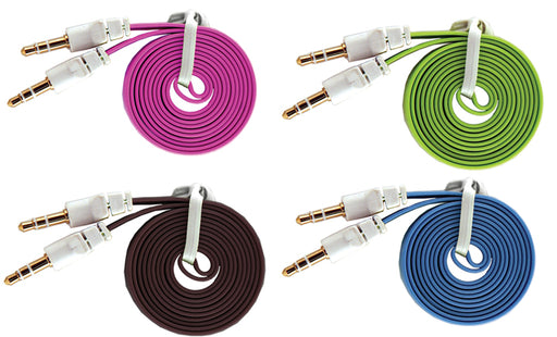 Sentry Flat Cord 3.5 Cable Assorted
