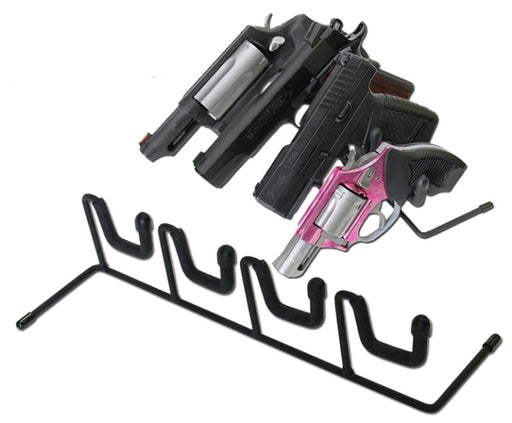 Four Pistol Holder Display