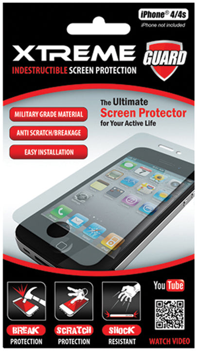 Indestructible Screen Protector iPhone 4