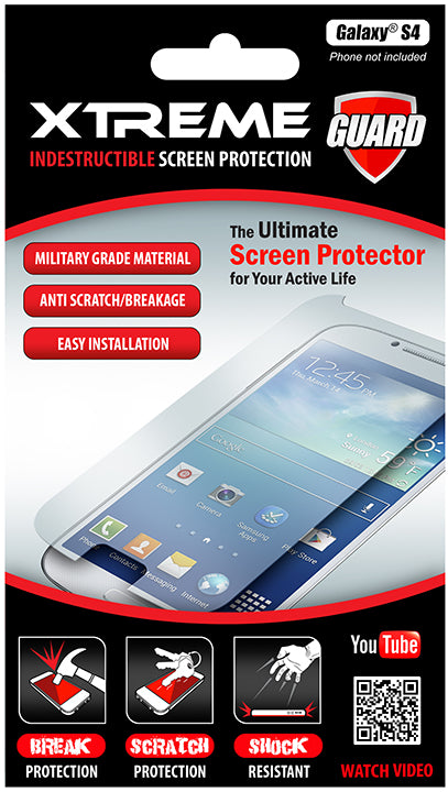 Indestructible Screen Protectr Galaxy S4