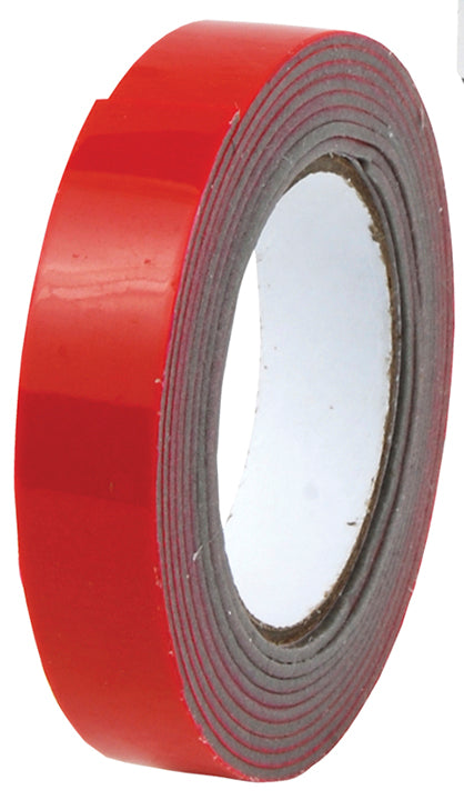 "Pipemans Double Sided 1/2"" Foam Tape Red"