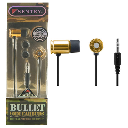 Sentry Gold Bullet Buds