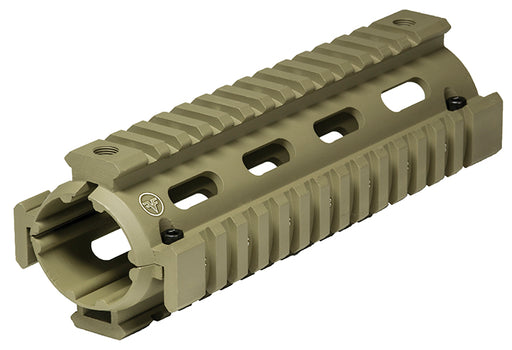 "FF Carbine 6.7"" Quad Rail Dark Earth"