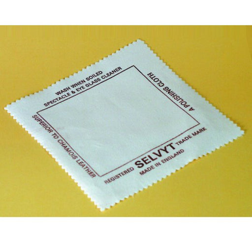 "Quality Selvyt Polishing Cloths 5"" x 5"""