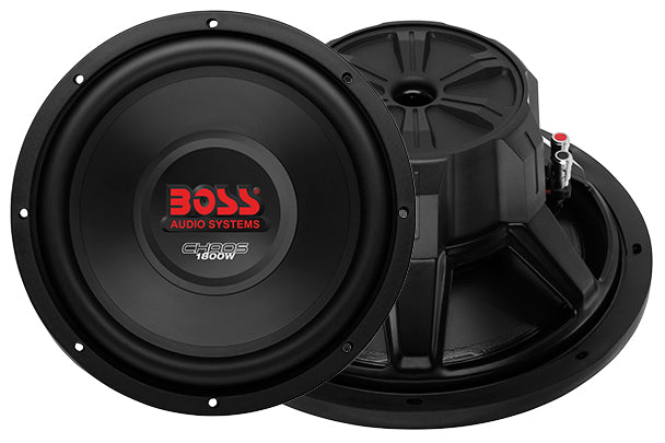 Boss Chaos 12in DVC 4ohm Sub 1800Watts