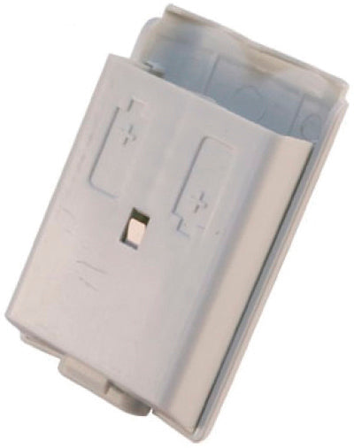 Xbox360 Controller Battery Cover WhtBulk