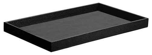 M&M LTH-1BK Textured Leatherettte Tray