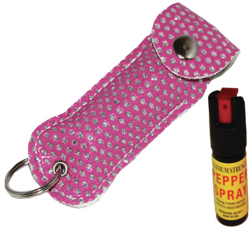Cheetah Pepper Spray Pink Bling 0.5oz