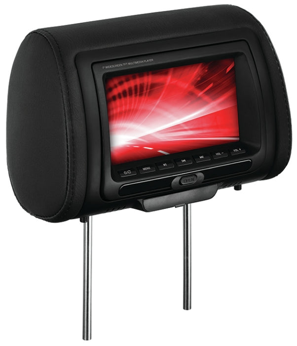 "Boss 7"" Universal Headrest with DVD"