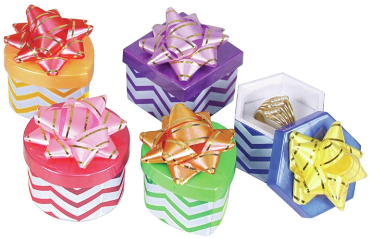 M&M 3454HB Chevron Hat Boxes - 48 Per Box