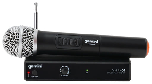 Gemini Handheld VHF Wireless MIc